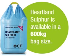 Heartland Sulphur fertilizer