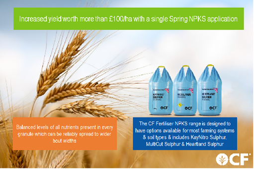 Spring Applied NPKS